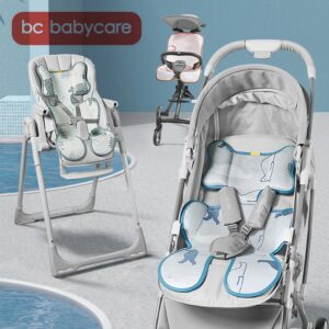 BC Babycare Summer Baby Cooling Stroller Ramie Mat Bacteriostatic Breathable Newborn Stroller Highchairs General Accessories Pad