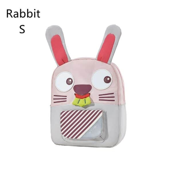 BC Babycare Baby Harness Backpack Leash Safety Anti-lost Backpack Strap Walker Cartoon Rabbit Kids Backpack Boy Girl School Bags