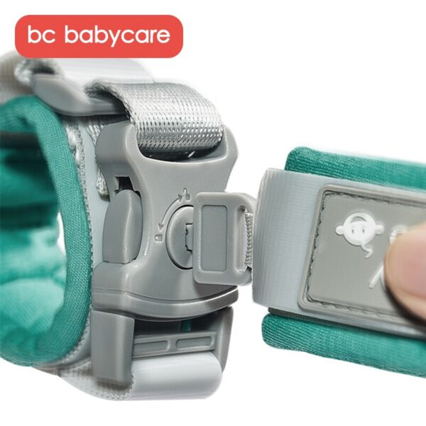 BC Babycare Toddlers Kids Safety Anti-Lost Wrist Link Kids Child Safety Wristband Reflective Leash Safety Harness for Babies