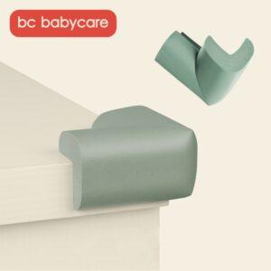 BC Babycare 4Pcs Baby Safety L U Shape Table Corner Guards Children Soft Furniture Edge Corner Protector Guards Toddler BPA Free