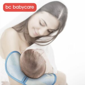 BC Babycare Baby Breastfeeding Arm Mat Summer Nursing Cool Pillow Infant Newborn Sleeping Antibacterial Anti-mite Ice Pillow Mat