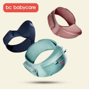 BC Babycare Baby Waist Stool Carrier Kids Hip Seat Child Infant Toddler with Buckle Pocket Baby Hip Seat Carrier Waist Stool