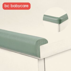 BC Babycare 2M Baby Proofing Edge Corner Safety Protector Soft Rubber Foam Table Safety Bumper Guard 3M Pre-Taped Corners
